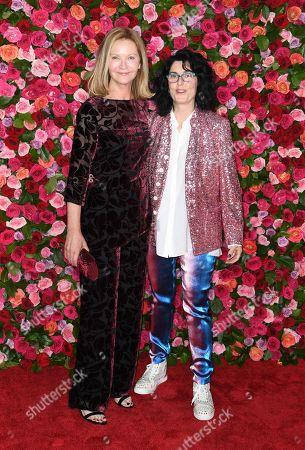 Joan Allen and Tina landau