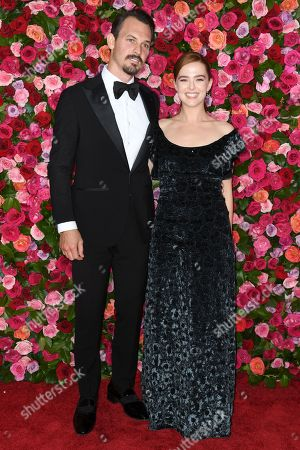 Editorial photo of 72nd Annual Tony Awards, Arrivals, New York, USA - 10 Jun 2018
