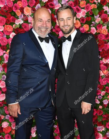 Stock Image of Casey Nicholaw and Josh Marquette