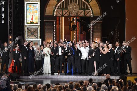 Editorial picture of 72nd Annual Tony Awards, Show, New York, USA - 10 Jun 2018