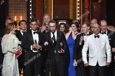 Editorial image of 72nd Annual Tony Awards, Show, New York, USA - 10 Jun 2018