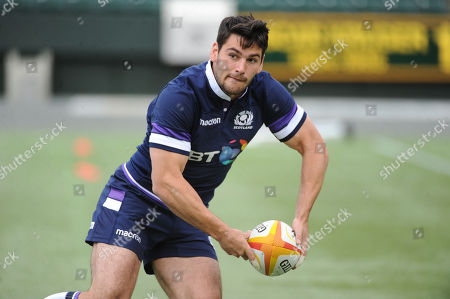 Sam Hidalgo-Clyne - Scotland scrum half.