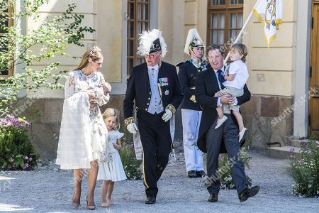 Editorial image of The christening of Princess Adrienne, Drottningholm Palace Chapel, Stockholm, Sweden - 08 Jun 2018