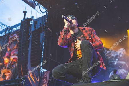 Editorial image of Download Festival, Day 1, Donington Park, Castle Donington, UK - 08 Jun 2018