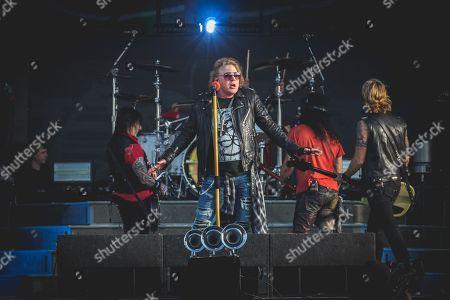 Guns N Roses - Axl Rose, Slash, Duff McKagan & Richard Fortus
