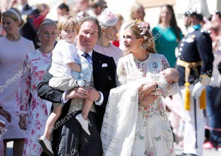 Stock Photo of Chris O'Neill, Prince Nicolas, Princess Madeleine, Princess Adrienne