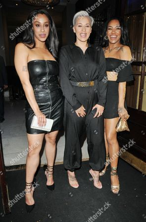Stock Photo of Stooshe (Alexandra Buggs, Karis Anderson and Courtney Rumbold)