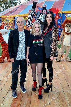 Jimmy Iovine, Liberty Ross and daughter Skyla Sanders