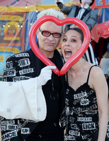 Billy Idol and China Chow