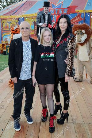 Jimmy Iovine, Skyla Sanders and Liberty Ross