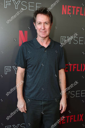 Netflix FYSEE Storytellers Drama Panel Los Angeles Stock Photos