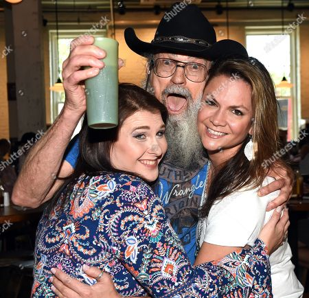 Stock Image of (EXCLUSIVE) Marsha Robertson, Uncle Si Robertson and Bridgette Tatum of Uncle Si & The Sicotics