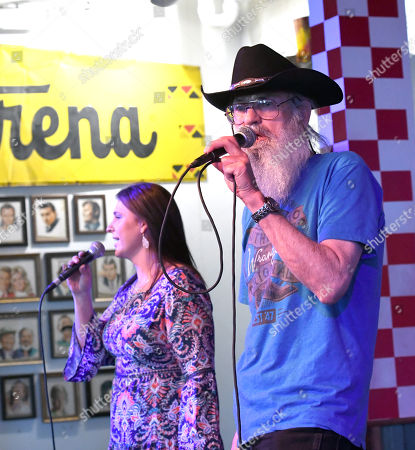 Stock Picture of Marsha Robertson and Uncle Si Robertson of Uncle Si & The Sicotics