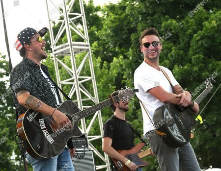 Stephen Baker Liles and Eric Gunderson of Love and Theft