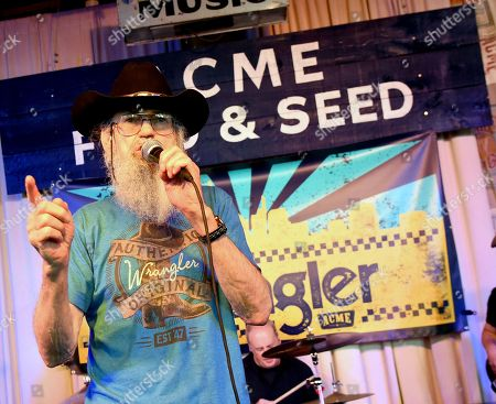 Stock Photo of Uncle Si Robertson of Uncle Si & The Sicotics