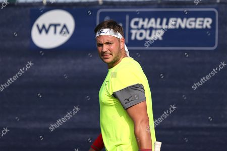 Marcus Willis (GBR) at the 2018 Nature Valley Open at Nottingham Tennis Centre, Nottingham. Picture by Katy Blackwood