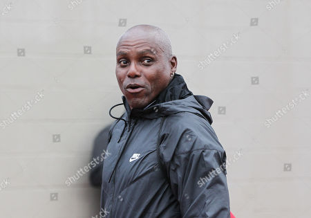 Track great Carl Lewis makes an appearance at the NCAA Track & Field Championships at Historic Hayward Field, Eugene, OR. Larry C