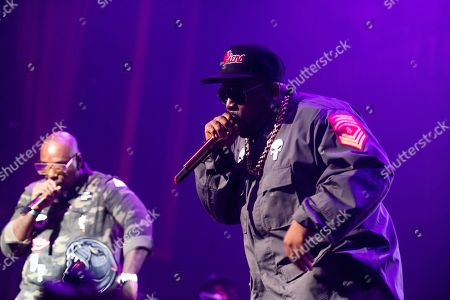 Sleepy Brown, Big Boi. Sleepy Brown, left, and Big Boi, perform on stage at The Tabernacle on Friday, June 8th, 2018, in Atlanta