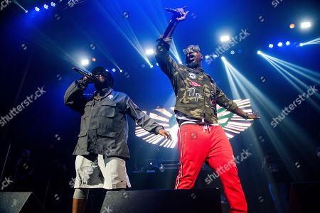 Sleepy Brown, Big Boi. Big Boi, left, and Sleepy Brown, perform on stage at The Tabernacle on Friday, June 8th, 2018, in Atlanta