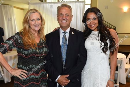 Lori McCreary, Vance Van Petten, Tracey Edmonds. Lori McCreary, Vance Van Petten and Tracey Edmonds attend the first day of the 10th Annual Produced By Conference at Paramount Pictures on in Los Angeles