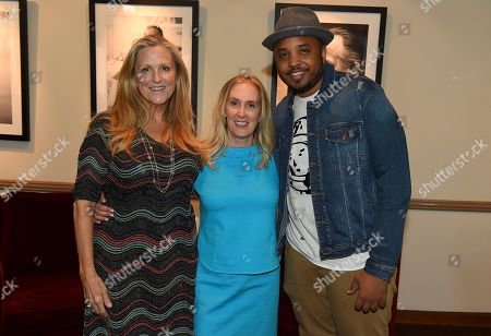 Lori McCreary, Susan Sprung, Justin Simien. Lori McCreary, Susan Sprung and Justin Simien attend the first day of the 10th Annual Produced By Conference at Paramount Pictures on in Los Angeles