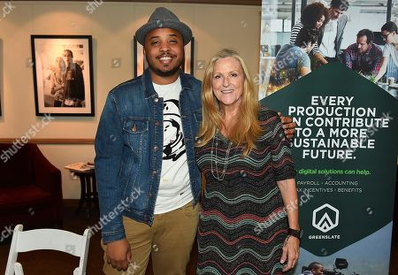 Lori McCreary, Justin Simien. Lori McCreary and Justin Simien attend the first day of the 10th Annual Produced By Conference at Paramount Pictures on in Los Angeles