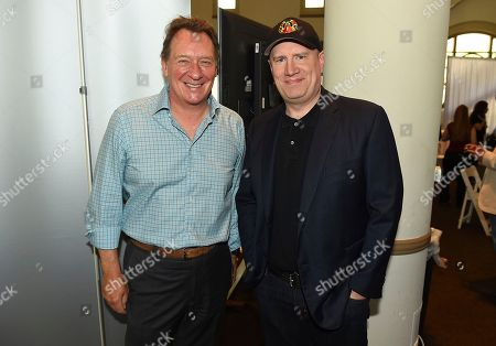 Gary Lucchesi, Kevin Feige. Gary Lucchesi and Kevin Feige attend the first day of the 10th Annual Produced By Conference at Paramount Pictures on in Los Angeles