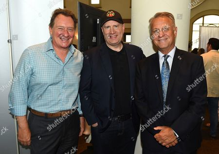 Gary Lucchesi, Kevin Feige, Vance Van Petten. From left, Gary Lucchesi, Kevin Feige and Vance Van Petten attends the first day of the 10th Annual Produced By Conference at Paramount Pictures on in Los Angeles