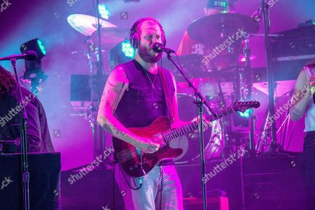 Bon Iver, Justin Vernon. Bon Iver performs at the Bonnaroo Music and Arts Festival, in Manchester, Tenn