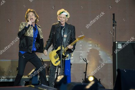 The Rolling Stones - Mick Jagger and Keith Richards