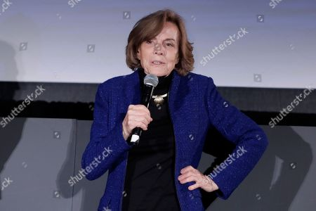 Marine biologist Sylvia Earle during a panel discussion held on the occasion of World Oceans Day.