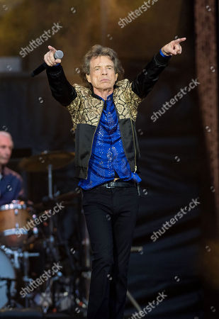 Stock Photo of The Rolling Stones - Mick Jagger