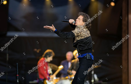Stock Picture of The Rolling Stones - Mick Jagger