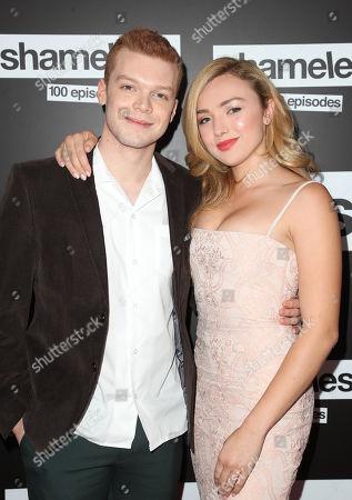 Cameron Monaghan and Sammi Hanratty