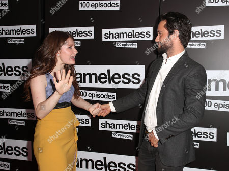 Emma Kenney and Justin Chatwin