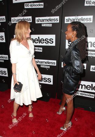 Chloe Webb and Shanola Hampton