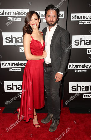 Emmy Rossum and Justin Chatwin