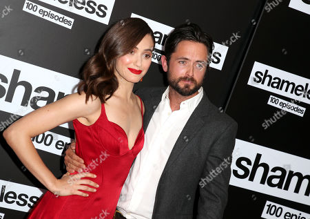 Stock Image of Emmy Rossum and Justin Chatwin