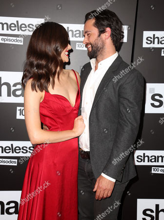Stock Photo of Emmy Rossum and Justin Chatwin