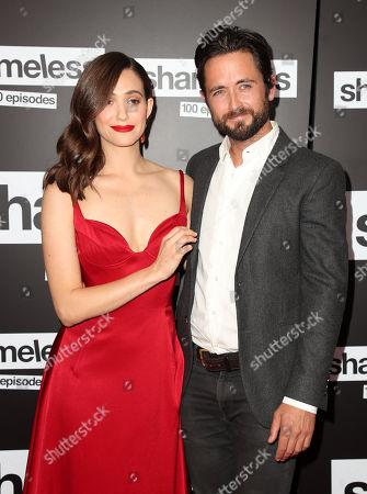 Editorial photo of 'Shameless' TV Show, 100th episode red carpet celebration, Arrivals, Los Angeles, USA - 09 Jun 2018