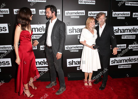 Stock Picture of Emmy Rossum, Justin Chatwin, Chloe Webb and William H. Macy