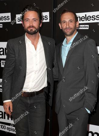 Justin Chatwin and Bernardo De Paula
