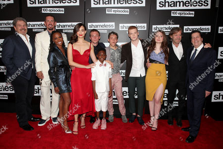 Editorial picture of 'Shameless' TV Show, 100th episode red carpet celebration, Arrivals, Los Angeles, USA - 09 Jun 2018