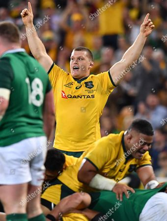 Editorial photo of Rugby Union first test between Australia and Ireland in Brisbane - 09 Jun 2018