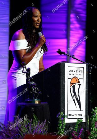 Editorial photo of Hall of Fame Basketball - Holdsclaw, Knoxville, USA - 09 Jun 2018