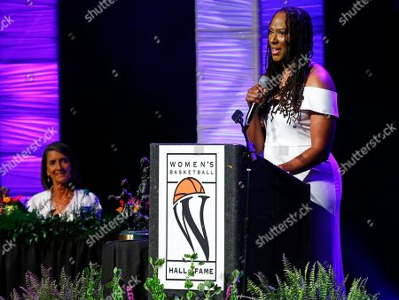 Editorial picture of Hall of Fame Basketball - Holdsclaw, Knoxville, USA - 09 Jun 2018