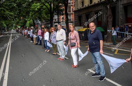 4a67b039af Basque Nationalist Party (PNV) s senior officials Andoni Ortuzar (R)