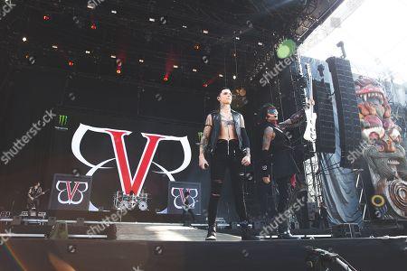 Black Veil Brides - Andy Biersack & Ashley Purdy