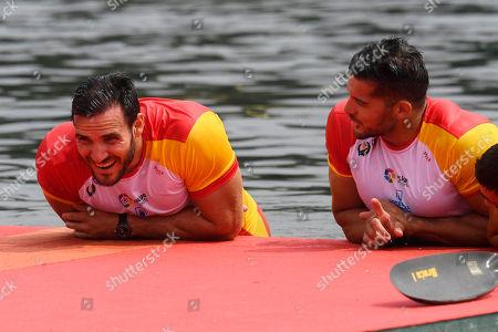 Saul Craviotto and Cristian Toro