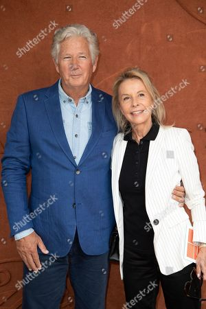 Pierre Dhostel and his wife Carole